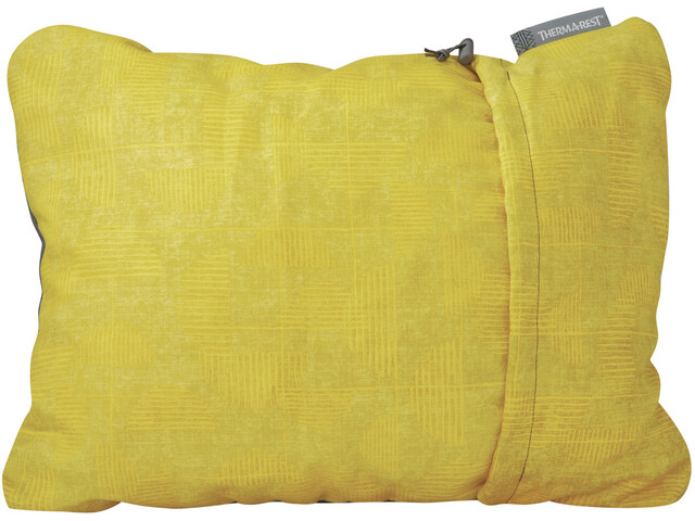 Therm-a-Rest Compressible Pillow size M, yellow print